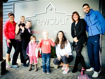 Win a 3-month family health club membership in Shrewsbury!