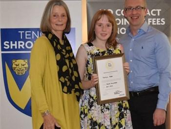 Shropshire winners in Aegon British Tennis Awards step into the spotlight