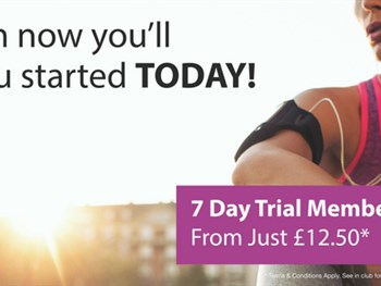 7-day trial membership from just £12.50