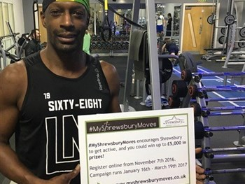 Shrewsbury Town legend signs up for an innovative fitness campaign