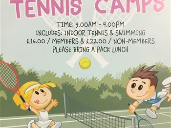 Tennis Camps! February Half Term and Easter Holidays
