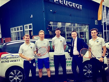 Shrewsbury tennis aces all set for National Premier League Finals in Leeds