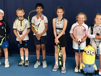 Shropshire tennis youngsters raring to go for Junior County Championship