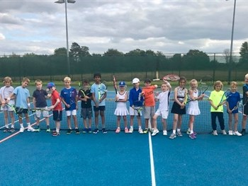 Excellent entry from young Shropshire tennis aces makes Junior Championship a huge hit at The Shrewsbury Club