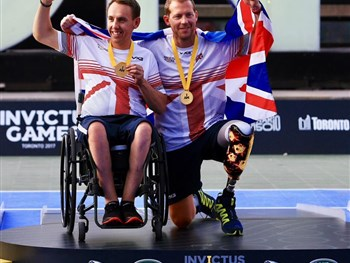 Gold medal joy for club member Kevin Drake at Invictus Games in Canada